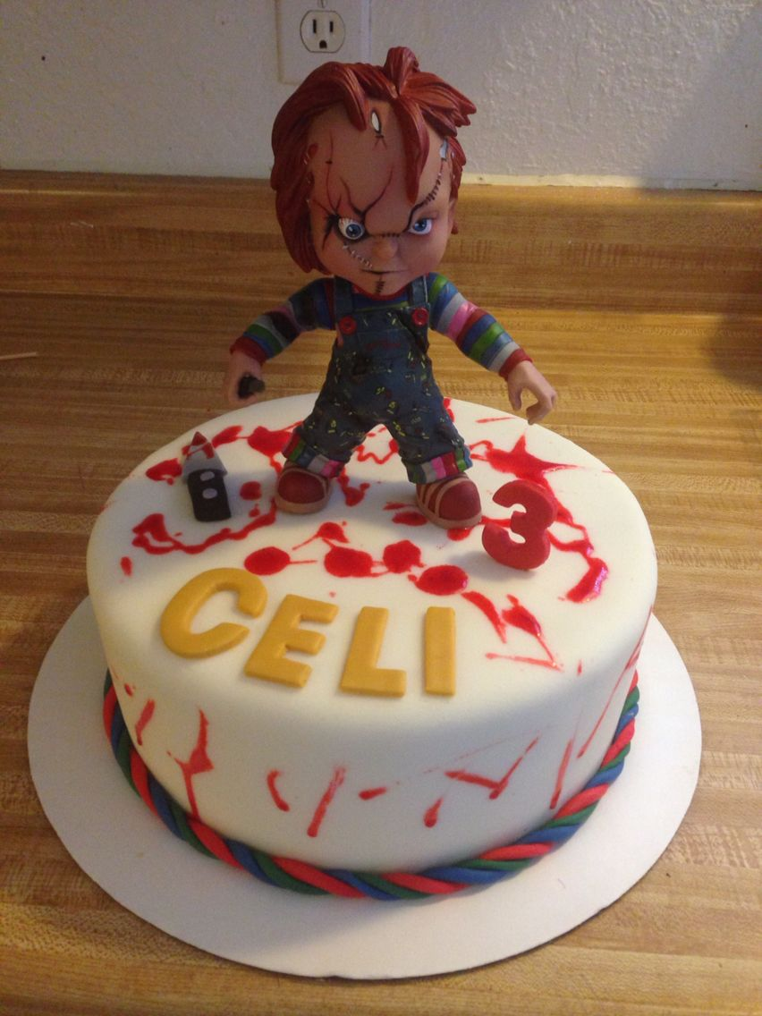 Chucky Cake My Cakes Pinterest Cake Halloween Cakes And