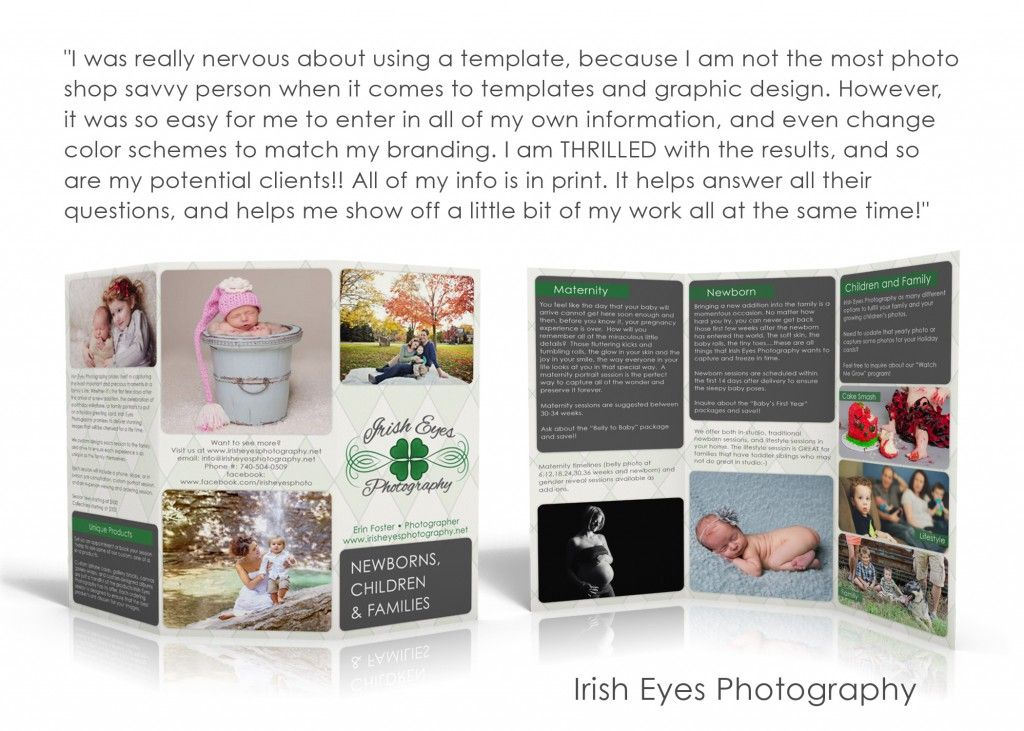 A brochure template designed JUST for gotprint.com! Must have for ...