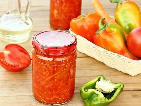 лечо на зиму рецепты с фото пошагово с помидорами