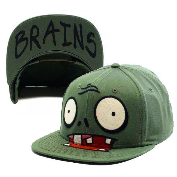 01ad89a1bbb Plants vs Zombies - Green Zombie Brains Cap