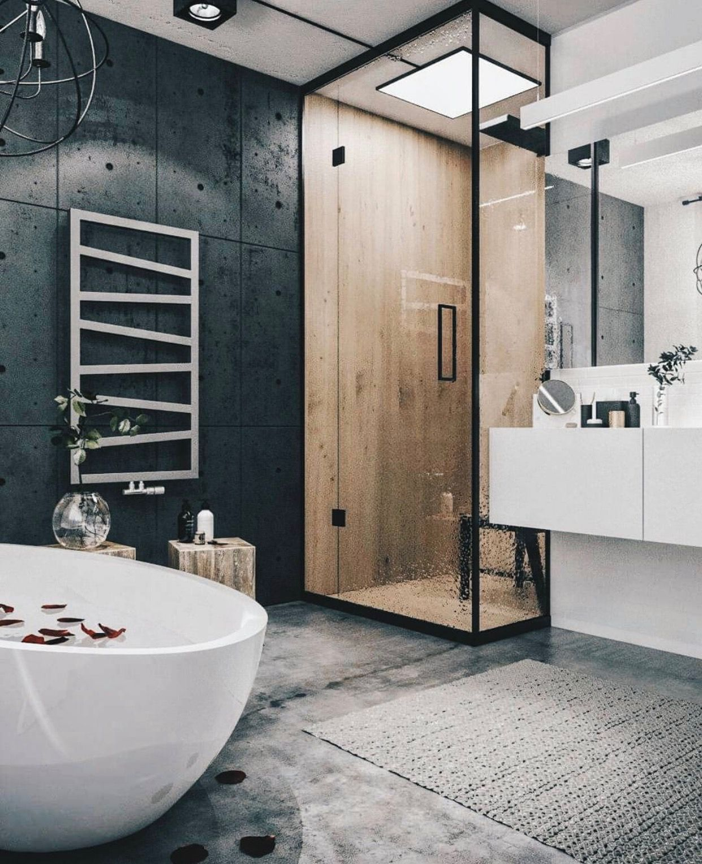 Inspirational Bathroom Panels Instead Of Tiles
