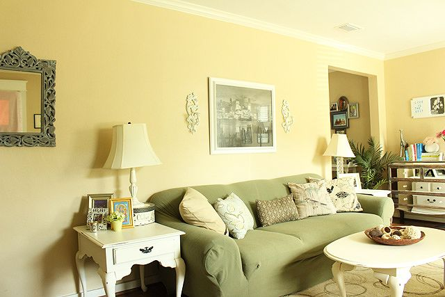 Living Room Makeover: Adding An Accent Wall | Pinterest | Stenciling ...