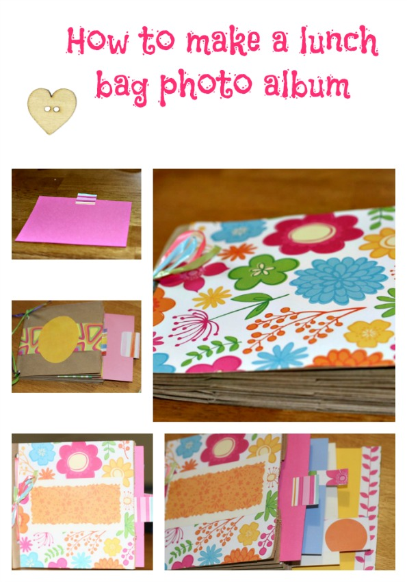 How To Make A Lunch Paper Bag Photo Album Craft Brett Johnson