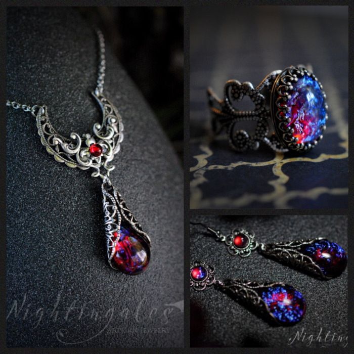 Dragons breath fire opal moon drop set just we like pinterest dragons breath fire opal moon drop set aloadofball Choice Image