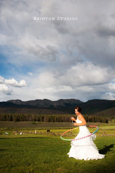 A wedding at Devil's Thumb Ranch.  You'll feel like a kid again.  A kid with champagne.