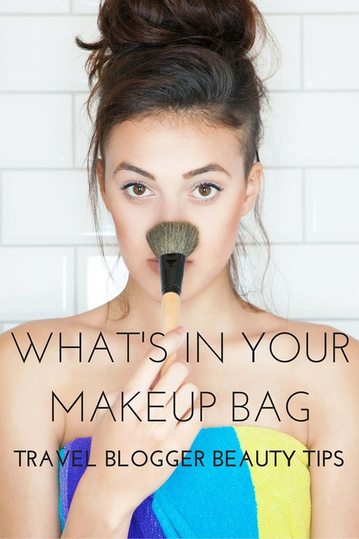 What's in Your Makeup Bag: Travel Beauty Essentials #beautyessentials
