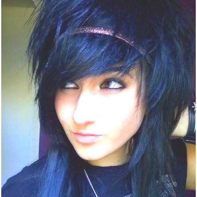I Like Poofy Hair Emo Girl Hairstyles Medium Scene Hair Emo Scene Hair