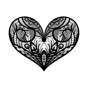 Herz Mandala Kostenlose Ausmalbilder Mandalas Zum Ausdrucken Ausmalbilder