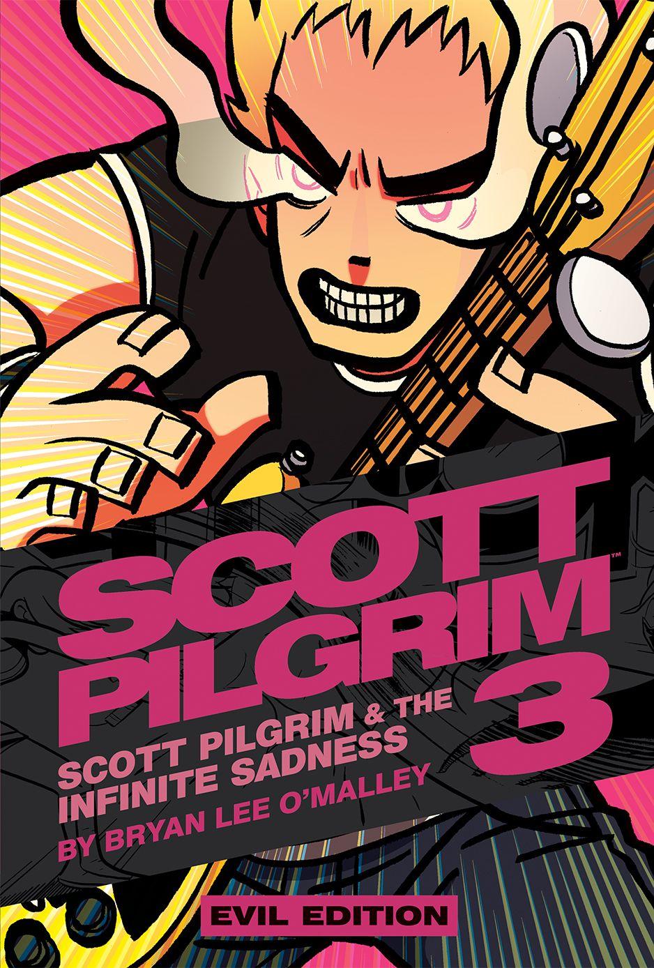 Scott Pilgrim color hardcover - Evil Edition | Comic booked ...