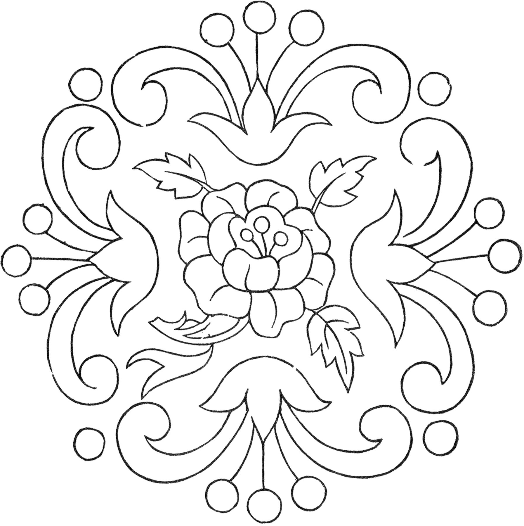 Flower Embroidery Patterns Amazing Ideas