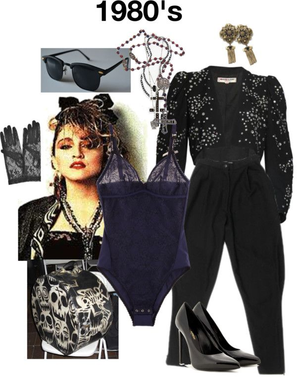 Madonna Era By Yolandamorales On Polyvore 80er Jahre Outfit