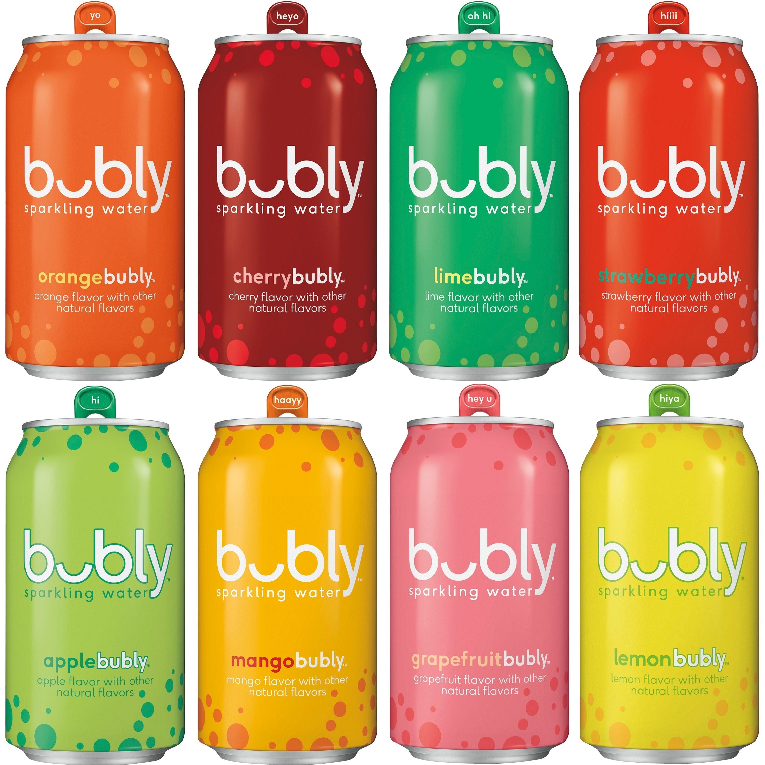 Bubly Sparkling Water Original Sampler 12 Oz Cans 18 Count Walmart Com Flavor Variety High Protein Breakfast Recipes Sparkling Water