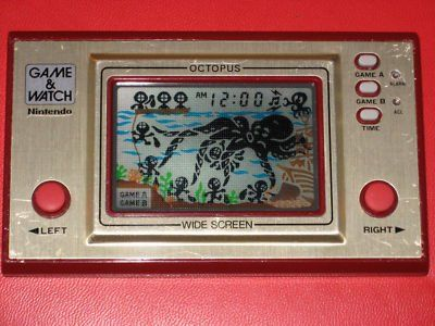 I used to have a few of these Nintendo Game Watch handhelds and would play them for hours on end. Did you?