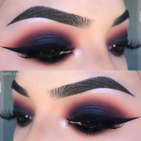 Pin de Lesley Avila en Makeup Pinterest Maquillaje, Ojos y Ojo