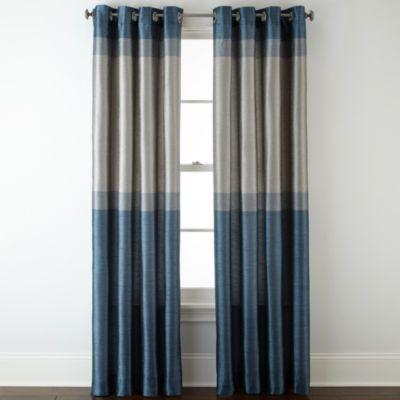 Studio Quintet Lined Grommet Top Curtain Panel Jcpenney