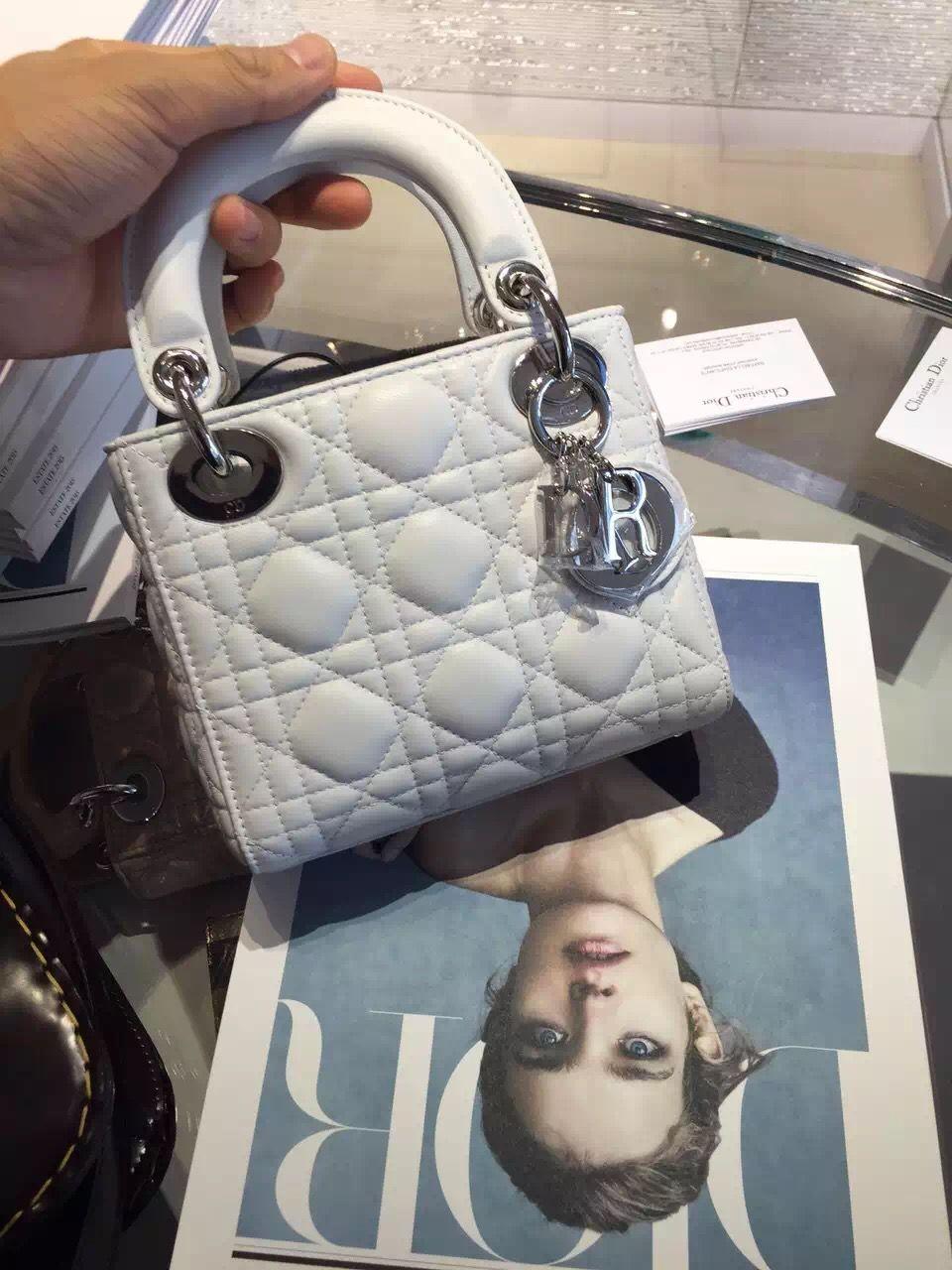d604170489c4 Dior Mini Lady Dior Bag