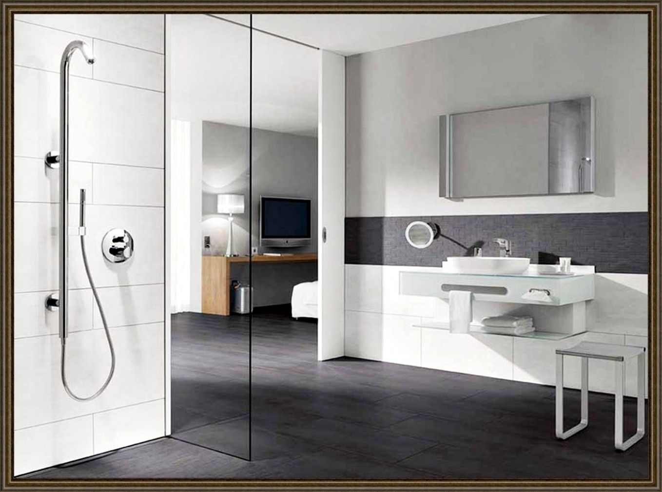 badezimmer auf kleinem raum ostseesuche com. Black Bedroom Furniture Sets. Home Design Ideas