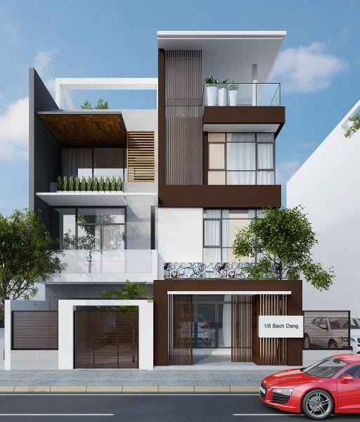 Exterior Home Design India: Kiến Trúc Mặt Tiền Nhà Phố đẹp