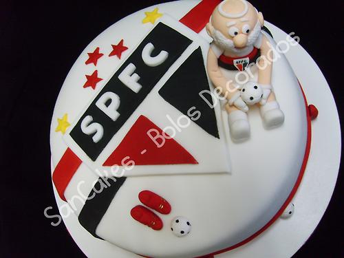 Bolos Decorados, Decorated Cake, SPFC, São Paulo, Time, Futebol