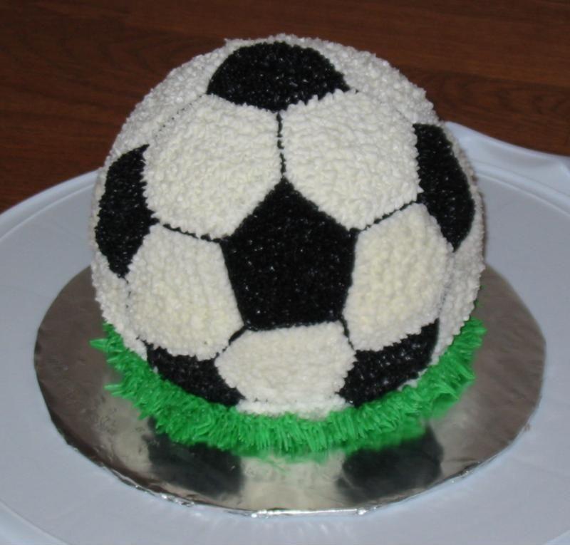 Images Of Soccer Ball Cake : Soccer cake Cupcakes & Cakes Pinterest Soccer cake ...