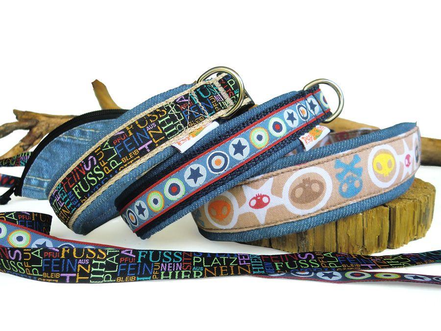 hundehalsband florissa mit fleecepolster halsband geschirr leine selbst gestalten peppetto. Black Bedroom Furniture Sets. Home Design Ideas