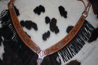 Western Twist tack breast collar