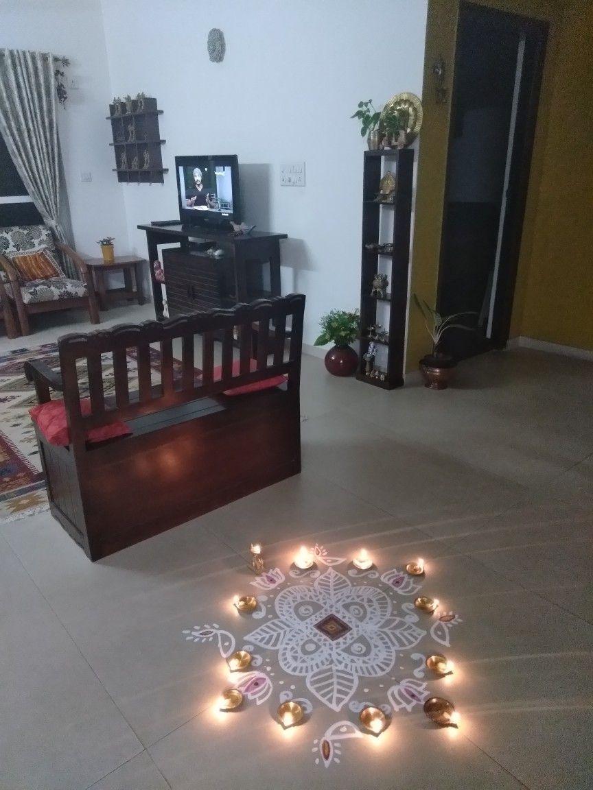 Karthigai Deepam at home   Decor, Home decor, Home