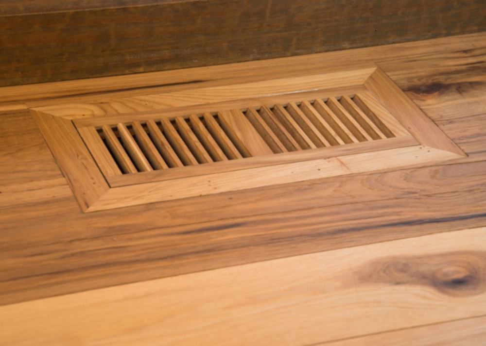 Make Your New Hardwood Floor Installation Seamless With Wood Vents