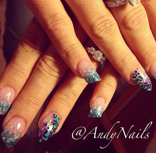 My nails-no Polish just powder. Lipstick & Stiletto Cut | Nail Doo\'s ...
