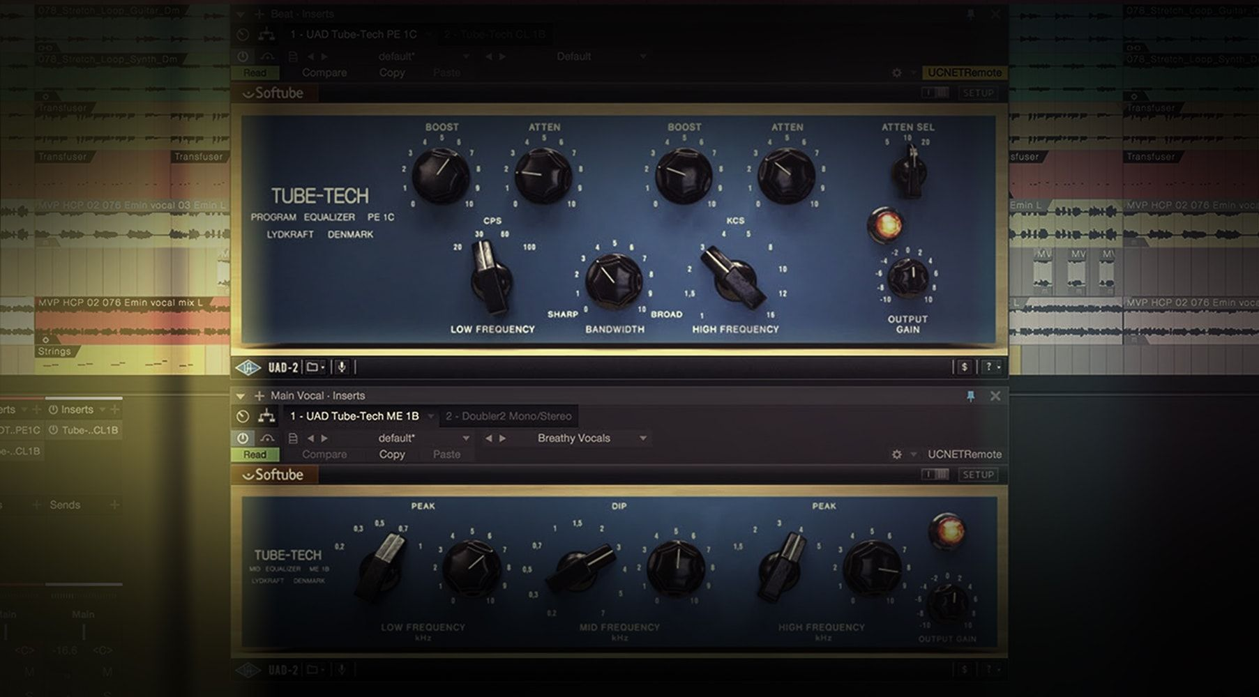 Tube-Tech EQ Collection | Universal Audio 錄音介面 audio