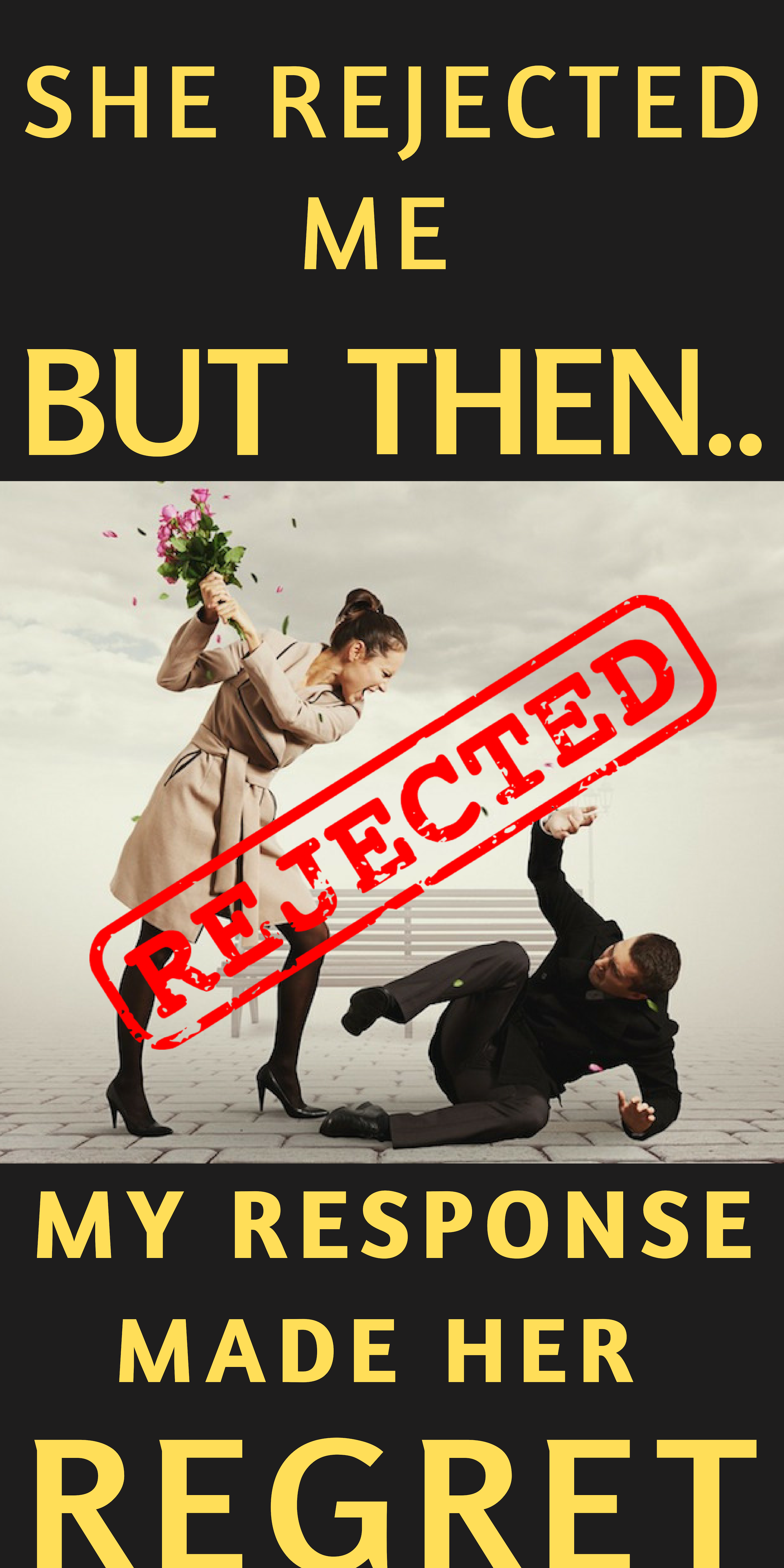how an alpha male handle rejection relationships