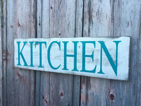 kitchen decor rustic distressed kitchen sign by redroansigns