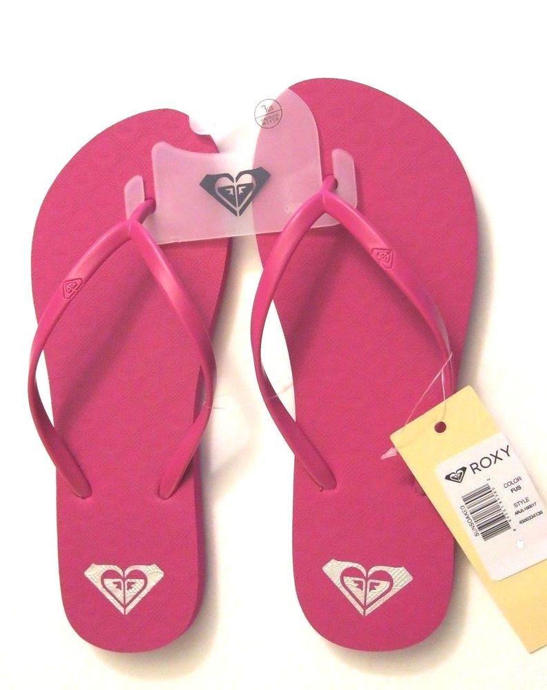 60b8e061b0c91 Roxy Sunsoaked Womens Flip Flop Sandal Size 9  ROXY  FlipFlops  Casual
