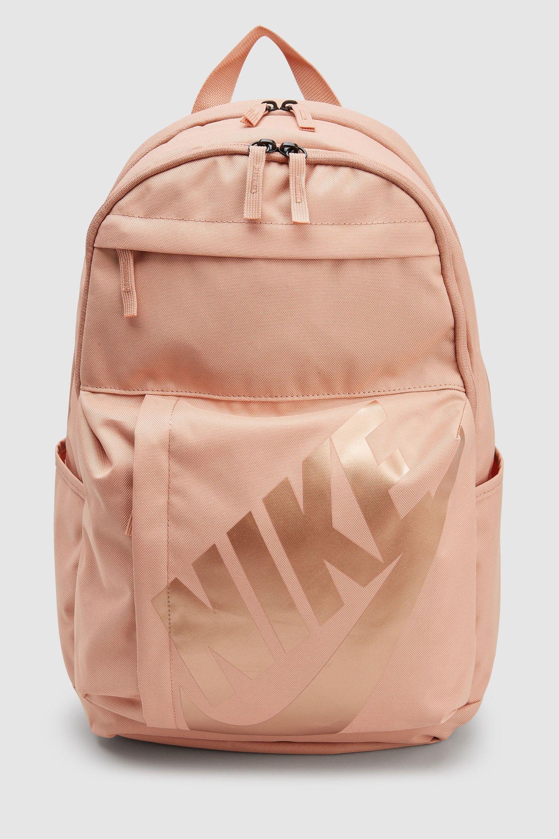 34cfdb7822556 Girls Nike Rose Gold Elemental Backpack - Gold in 2019 | bags | Gold ...