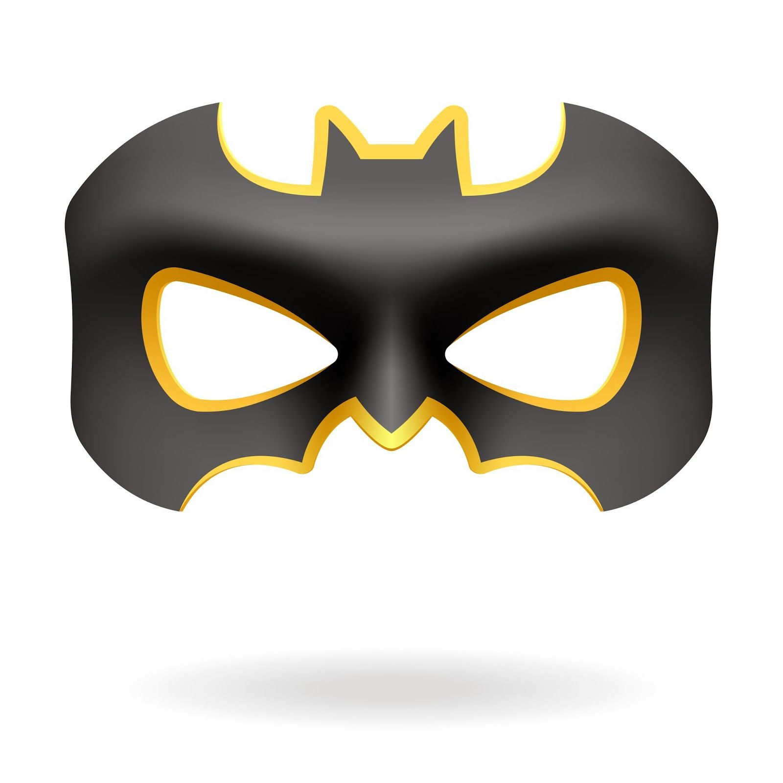 M scaras de batman y batichica para imprimir gratis for Batman face mask template
