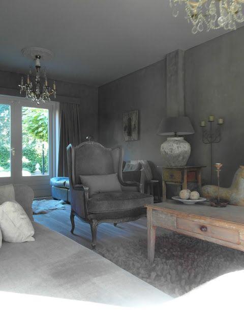 Huis decoratie pinterest landelijk wonen - Deco stijl chalet ...