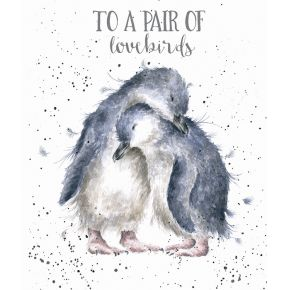 'Penguins in love' Special Couple card
