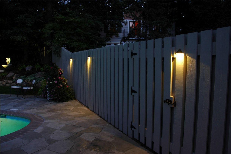 Tipps Zu Tun Der Zaun Beleuchtung Ideen Mobelde Com Zaun Beleuchtung Beleuchtung Zaun