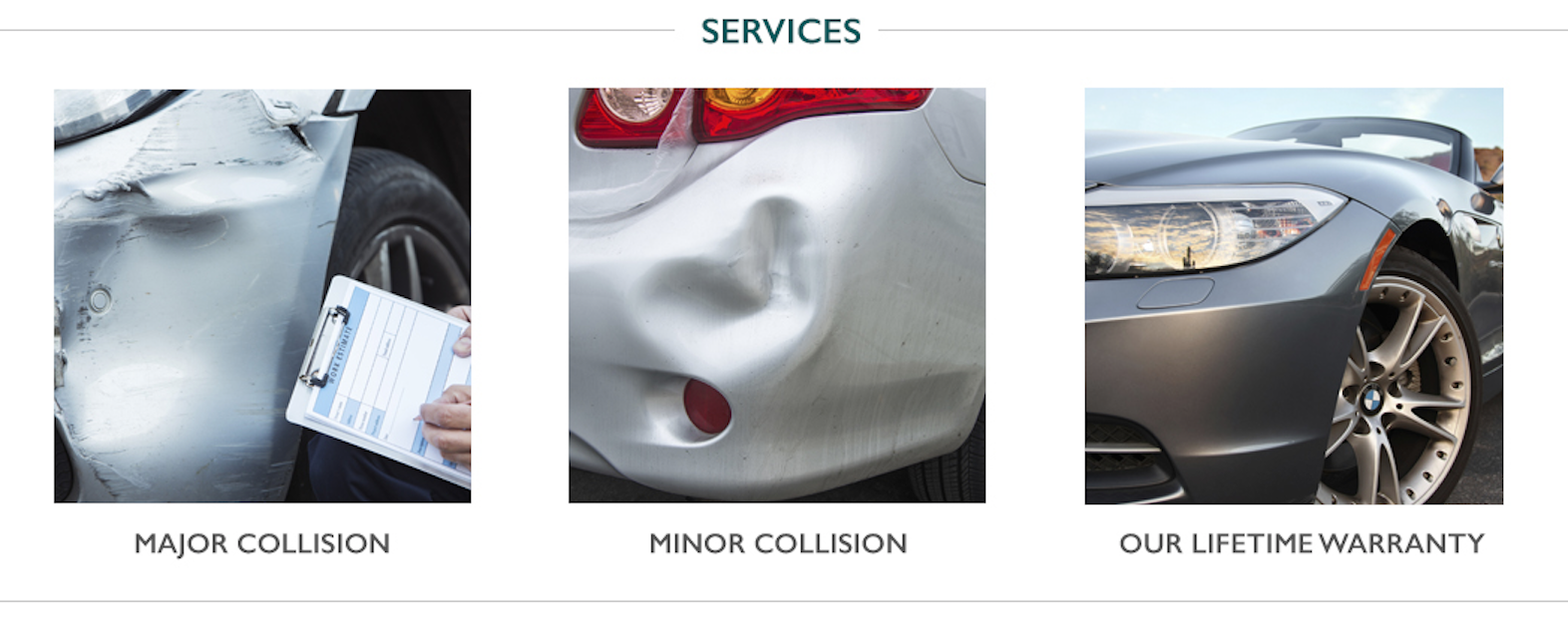 We offer a wide range of services, including major and minor collision repair, as well as our lifetime warranty. Book now  909.987.4609!  #car #cars #services #california