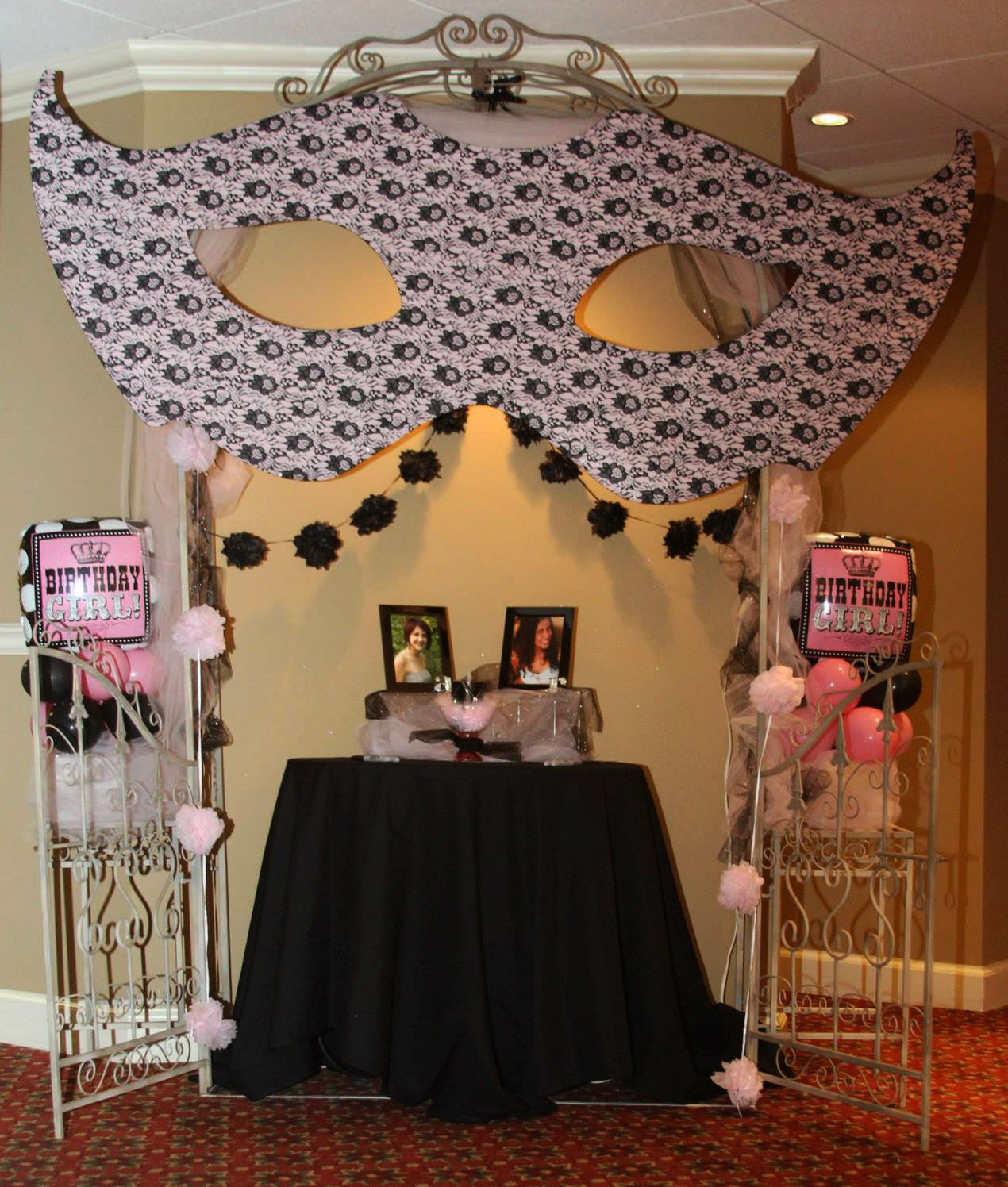 Best 25 Sweet 16 Masquerade Ideas On Pinterest