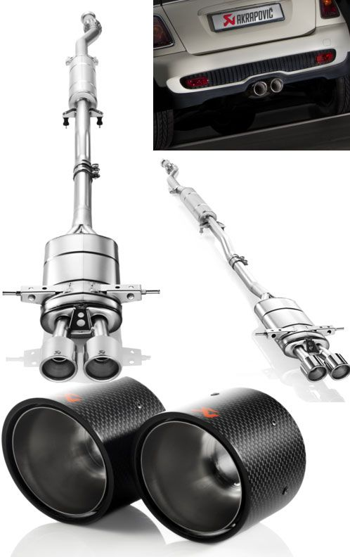 Akrapovic Mini Cooper S R56 R59 R58 Exhaust System