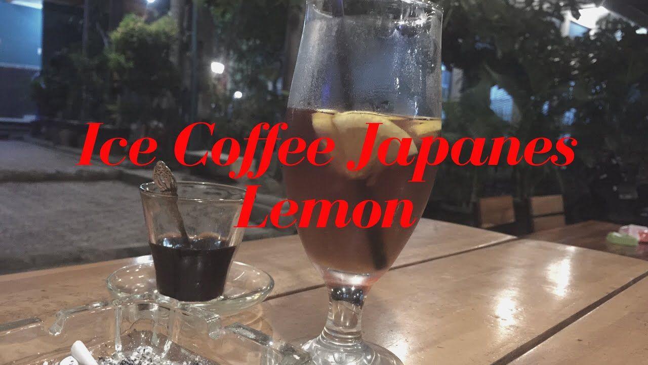 Tips Cara Membuat Ice Coffee Japanes Lemon Barista Chikok Youtube Lemon Iced Coffee Barista