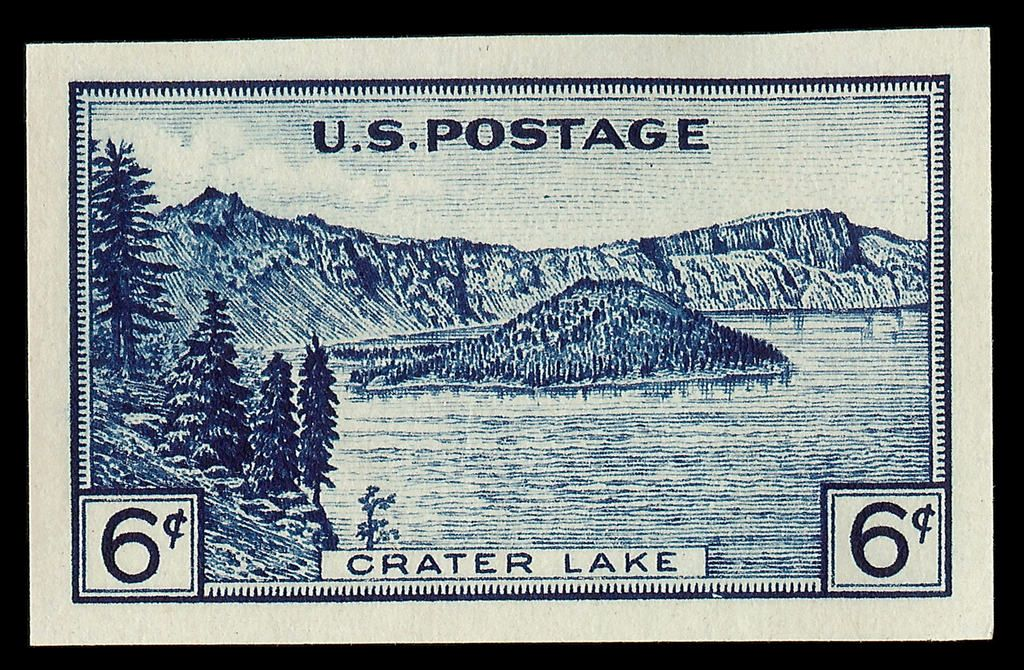 Us National Parks Stamps 1934 Crater Lake Postage Stamps Usa Vintage Postage Stamps Commemorative Stamps