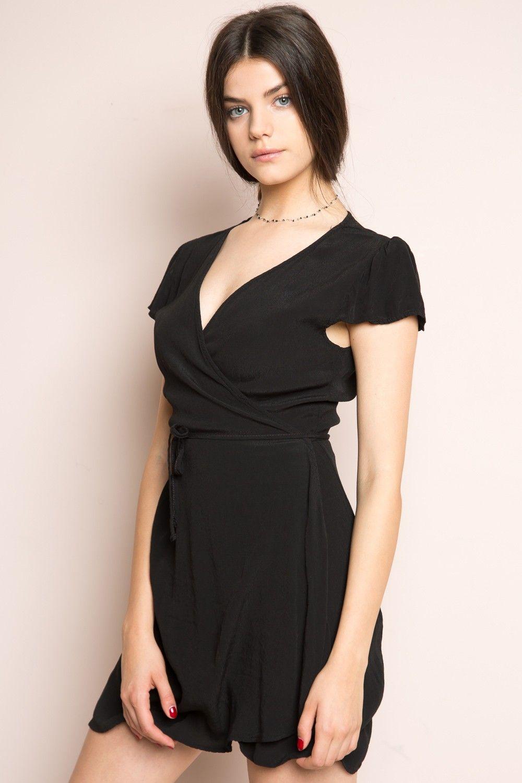 Black t shirt dress brandy melville - Brandy Melville Robbie Dress Just In