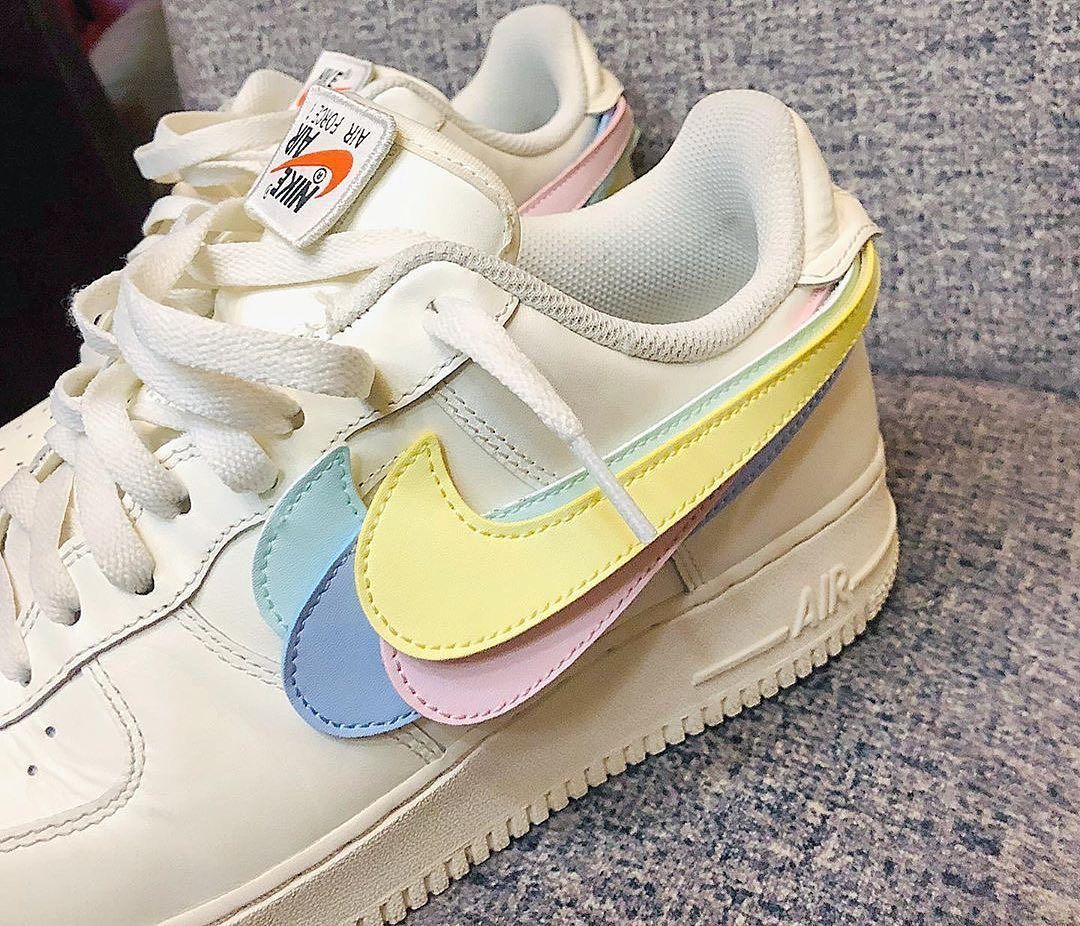 Streewear On Instagram Pastel Swoosh Comment Below For Credit Zapatos Nike Zapatos Zapatillas