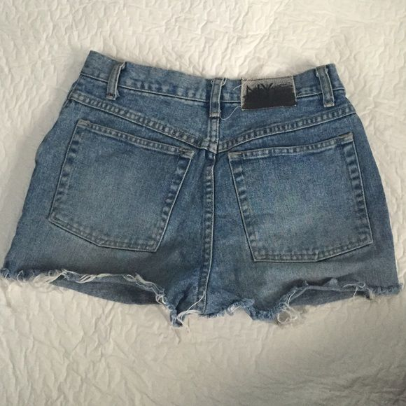High waisted short shorts Custom cut nyc brand vintage Jeans