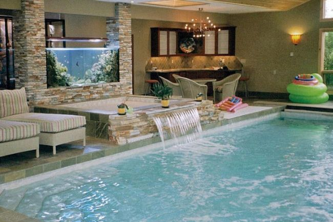 Indoor Pool And Spa Tropical Pool Calgary Master Pools By