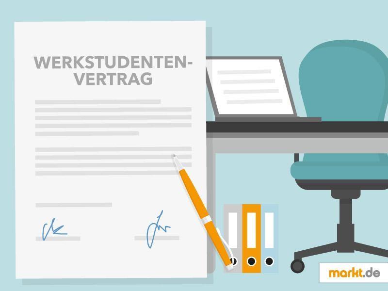 📚 Werkstudenten Mustervertrag - Tipps und Vorlage| markt.de ...