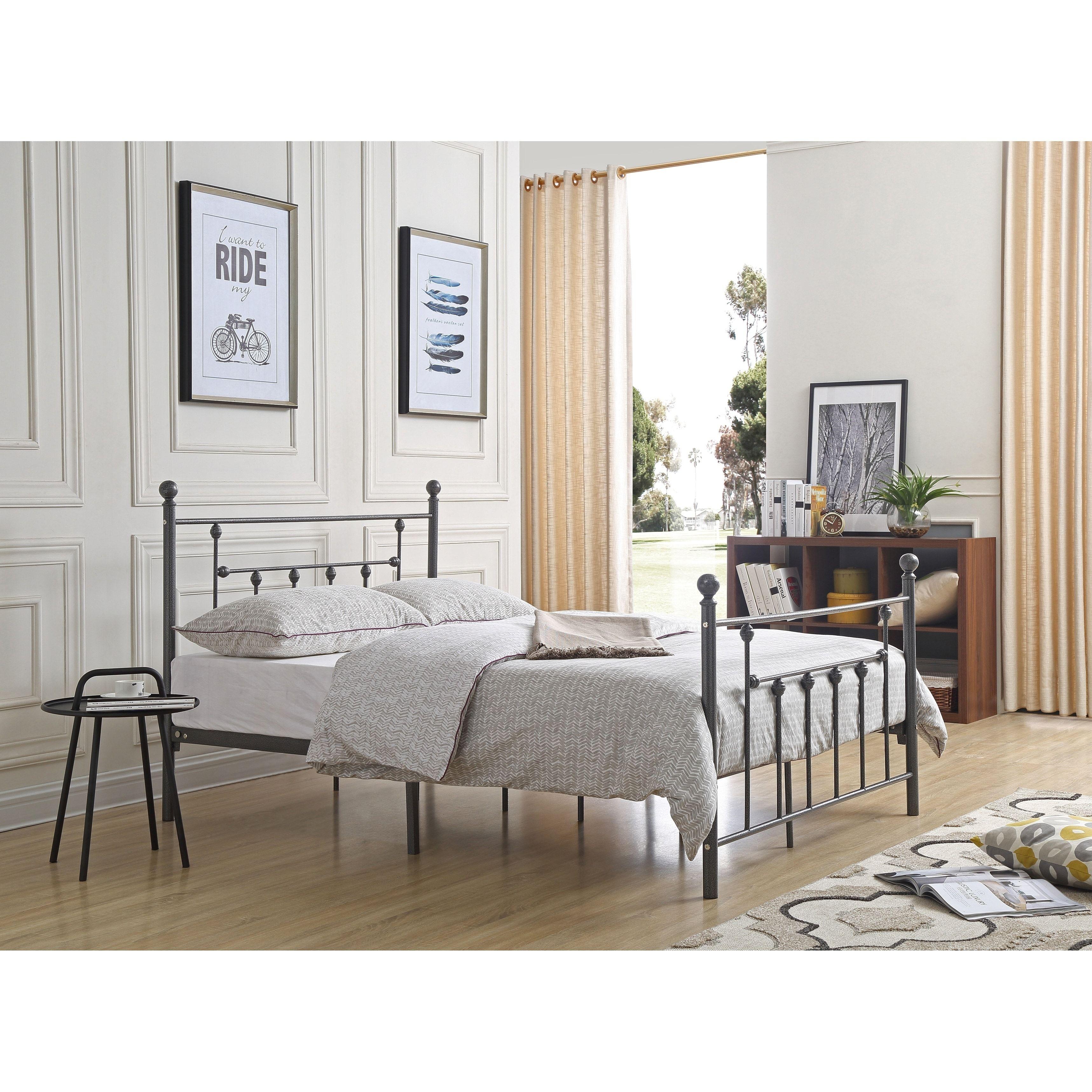 hodedah imports metal poster bed beds