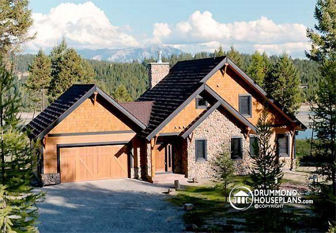 Över 1 000 bilder om Lakefront Cottage & home plans, Country ...